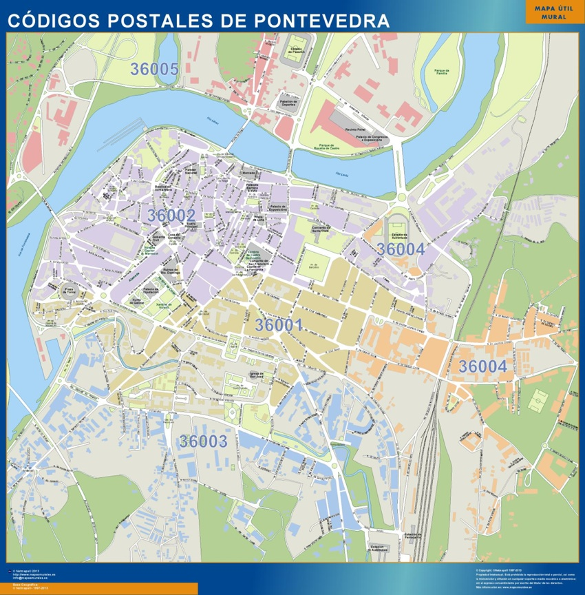 Pontevedra Codigos Postales