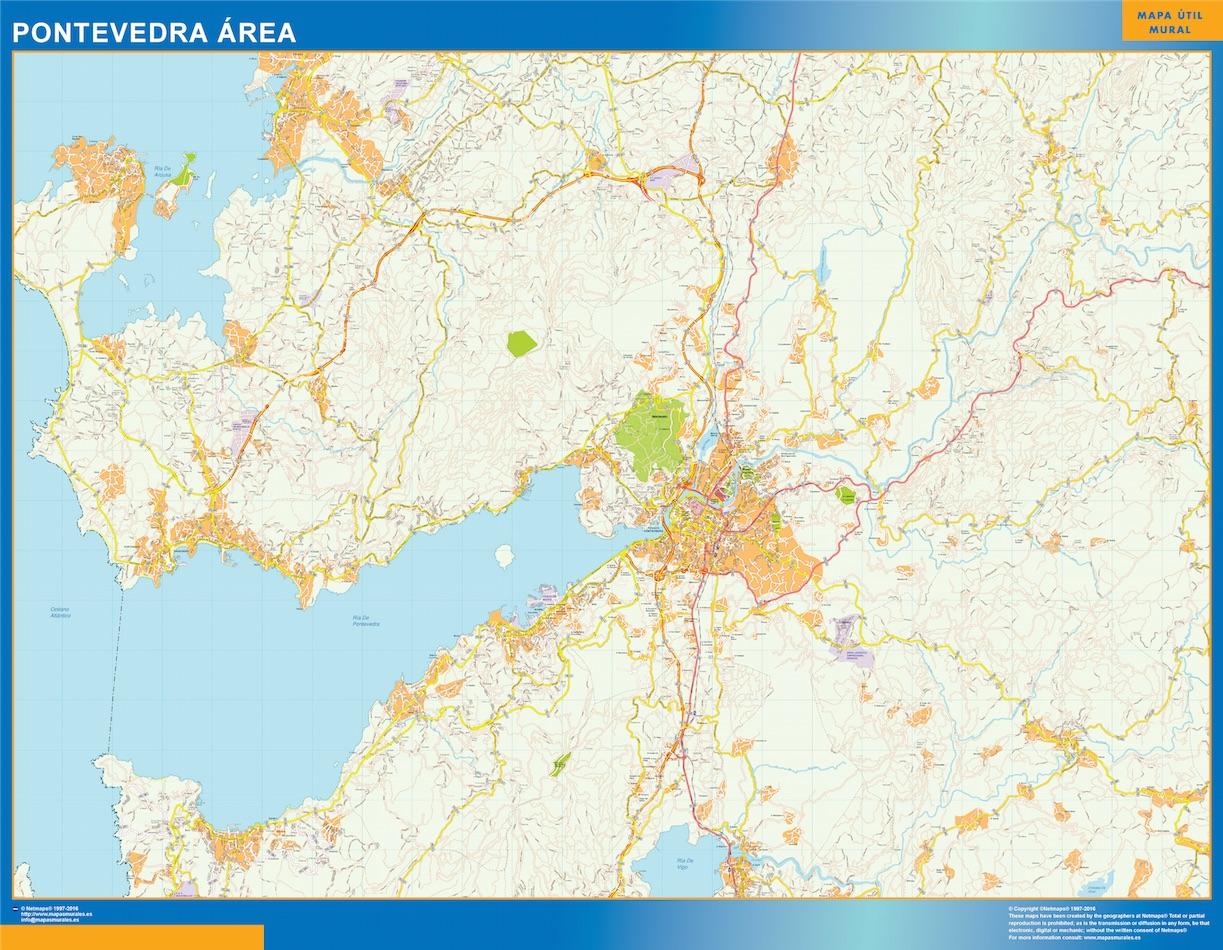 Pontevedra Mapa Area