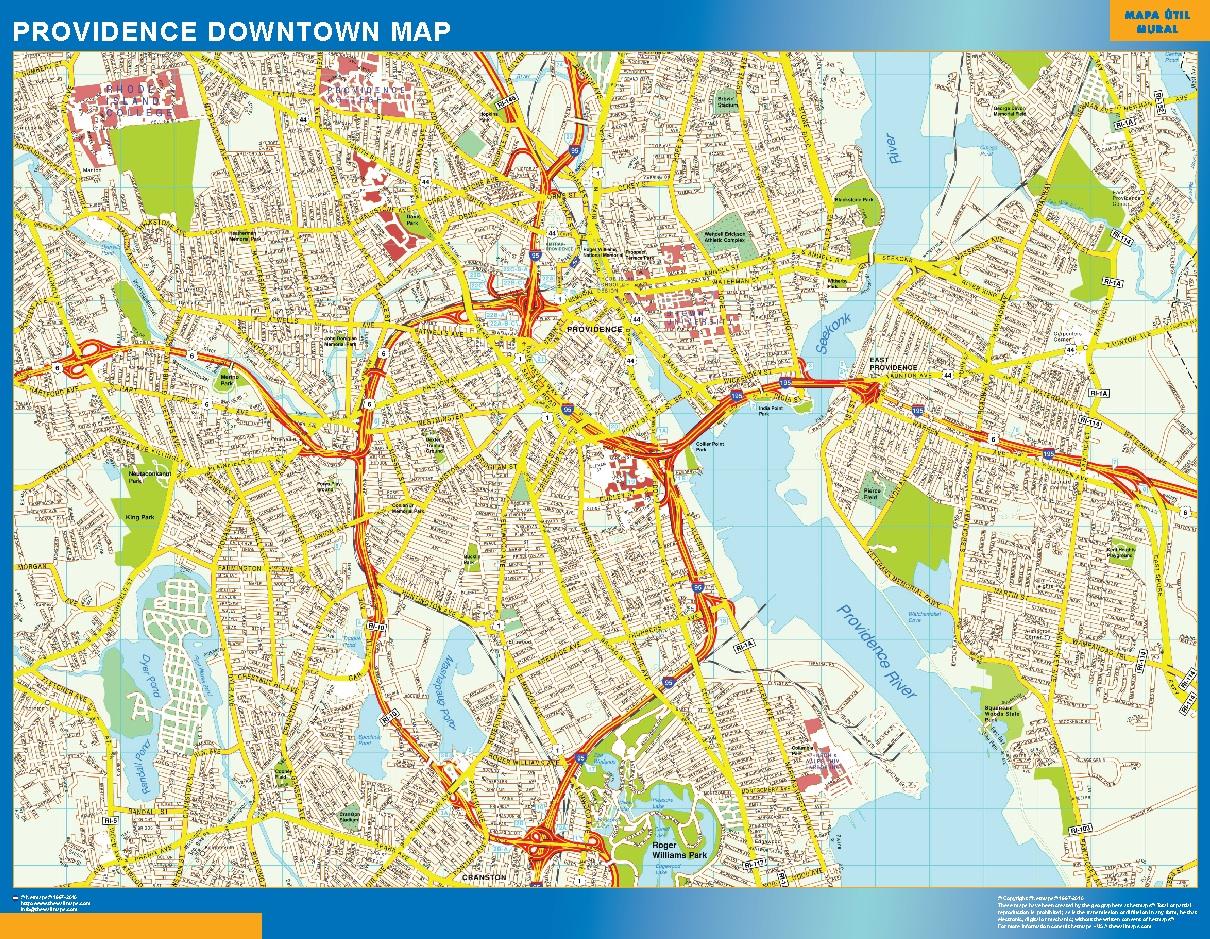 Providence Mapa Centro