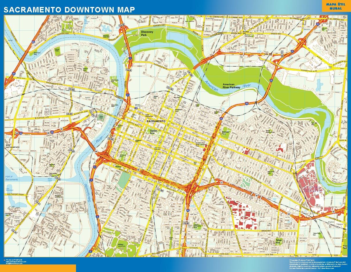 Sacramento Mapa Centro
