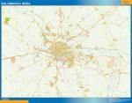 Salamanca Mapa Area
