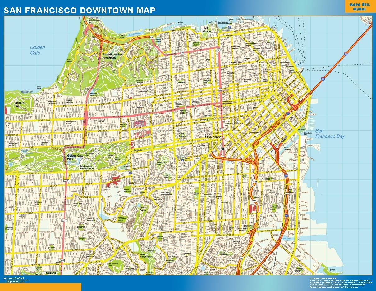 San Francisco Mapa Centro
