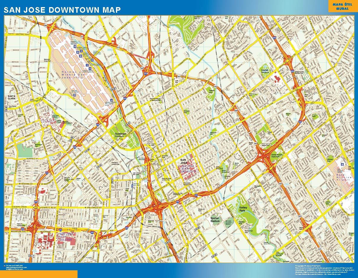 San Jose Mapa Centro