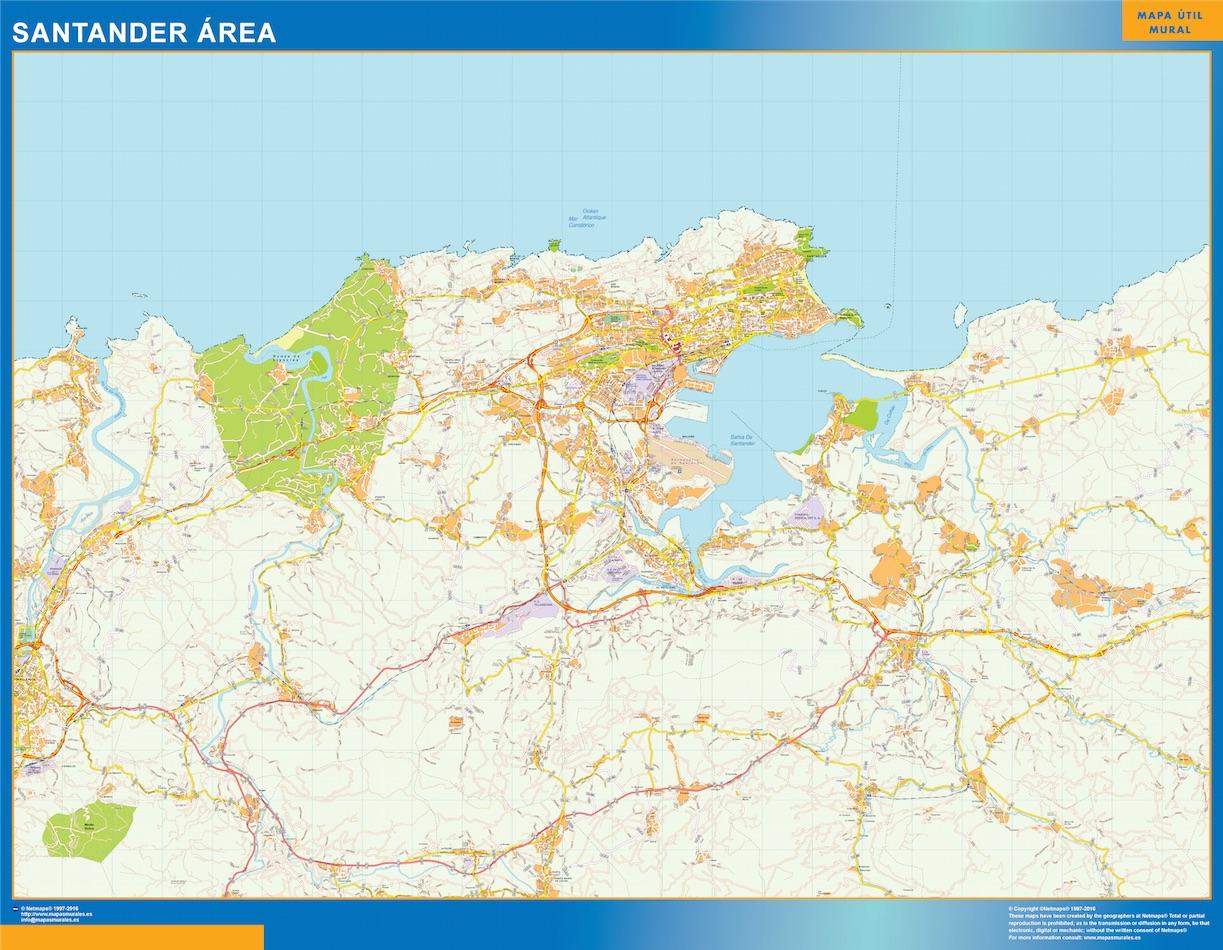 Santander Mapa Area