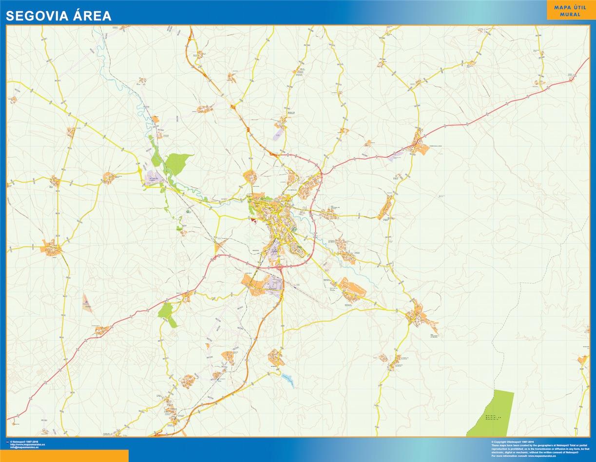 Segovia Mapa Area