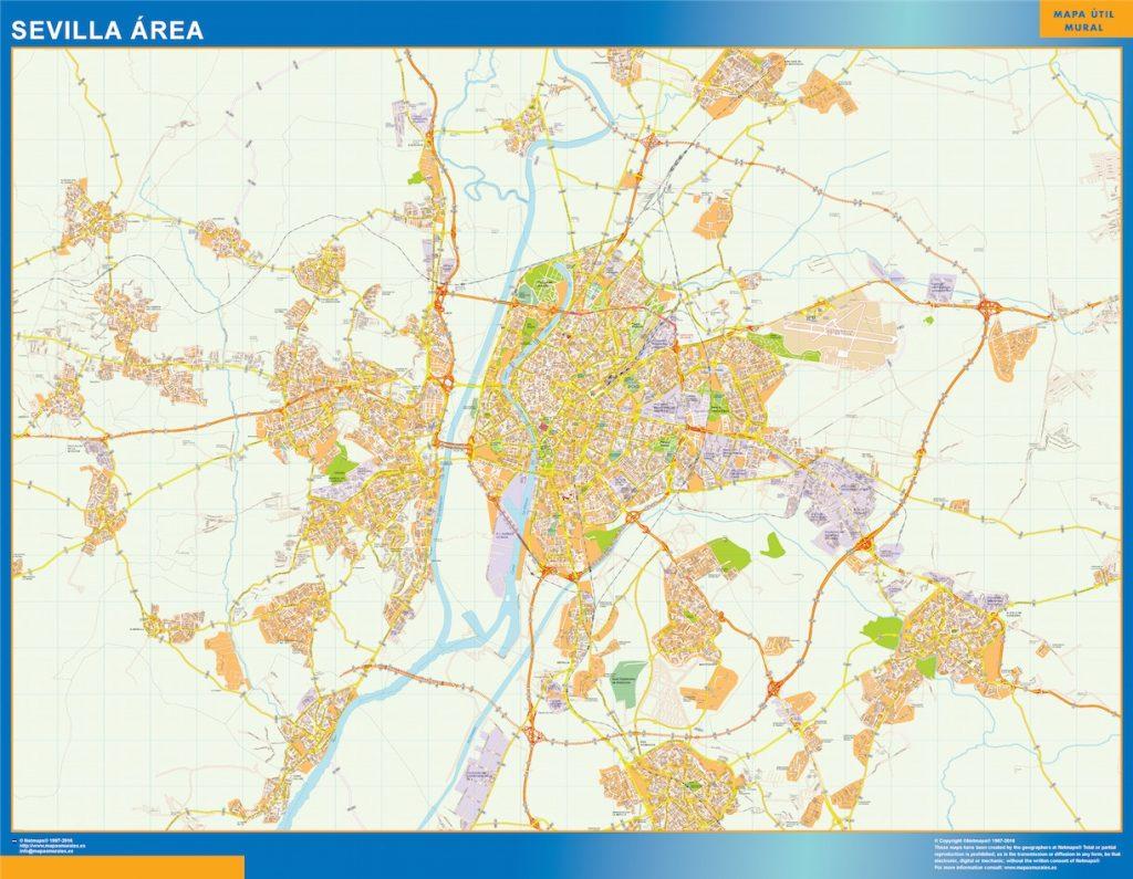 Mapa Sevilla Mapa Area