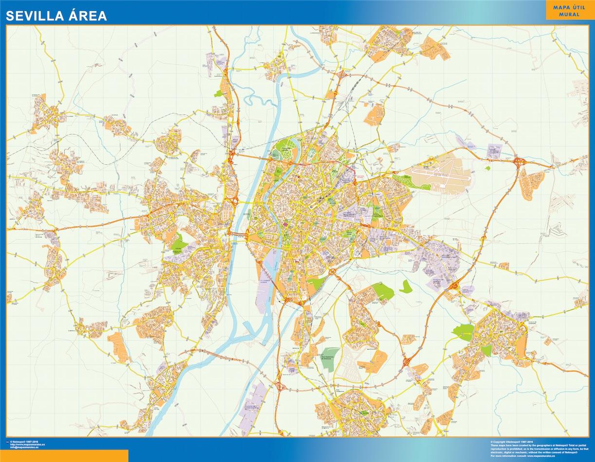 Sevilla Mapa Area