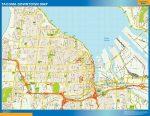 Tacoma Mapa Centro