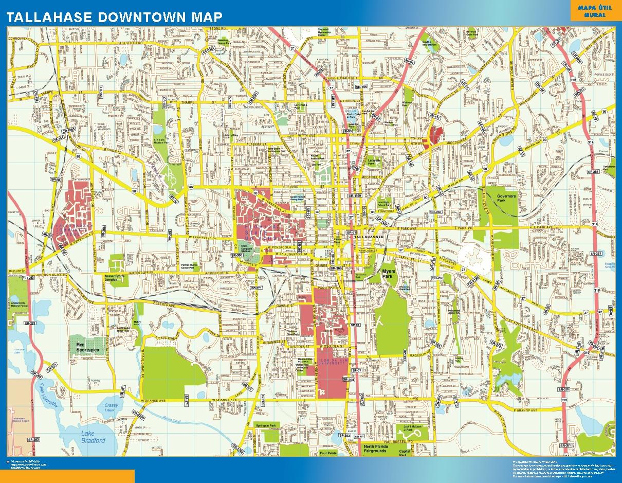 Tallahase Mapa Centro