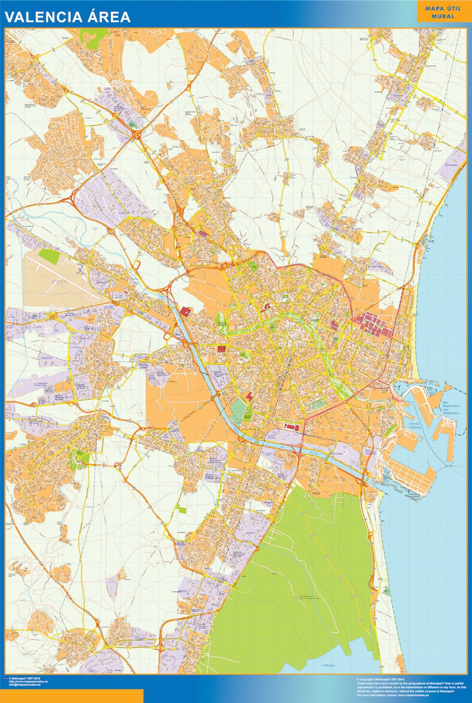 Valencia Mapa Area