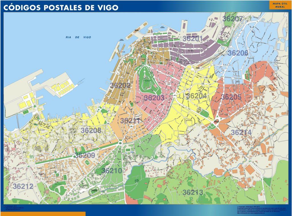 Vigo Codigos Postales