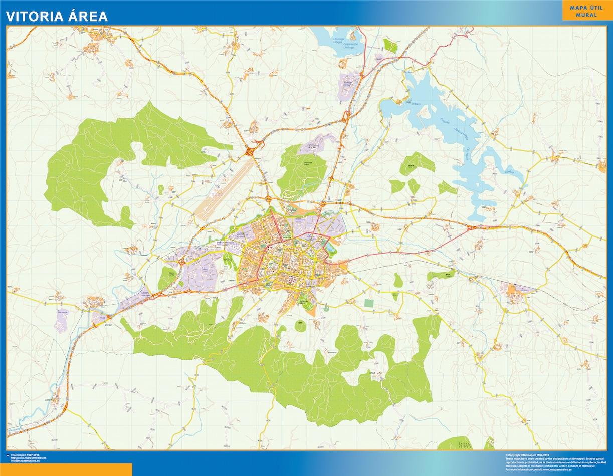 Vitoria Mapa Area