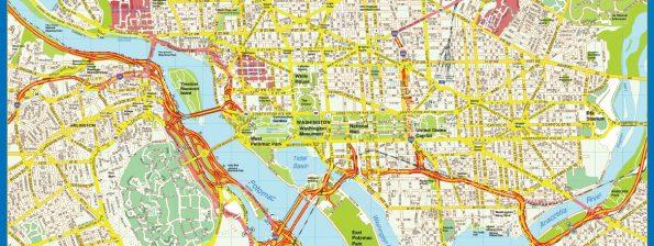 Washington Mapa Centro