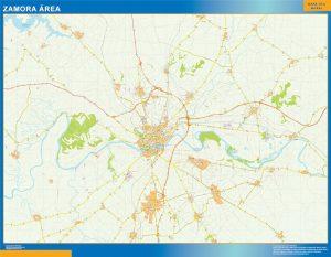 Mapa Zamora Mapa Area