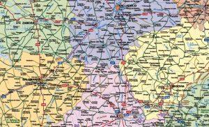 mapas carreteras espana