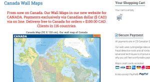 Canada Mapas