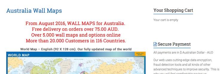 Mapas Australia