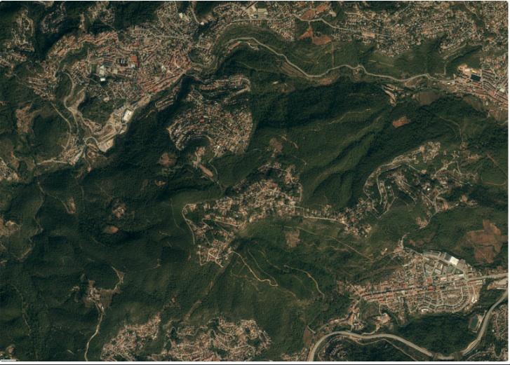 Fotografia Area Cervello Corbera