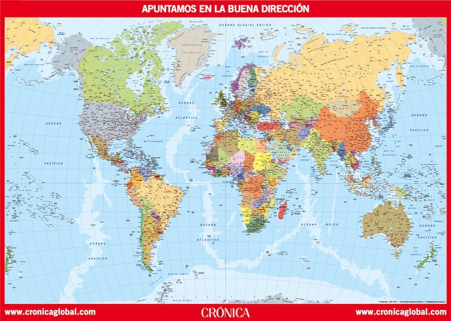 Mapamundi Cronica Global
