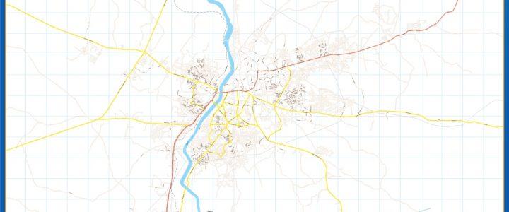 Mapa Abekouta