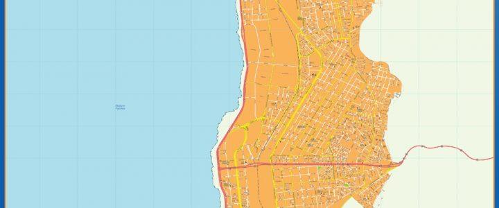 Mapa Antofagasta