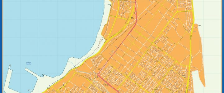 Mapa Arica