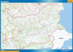 Mapa Bulgaria