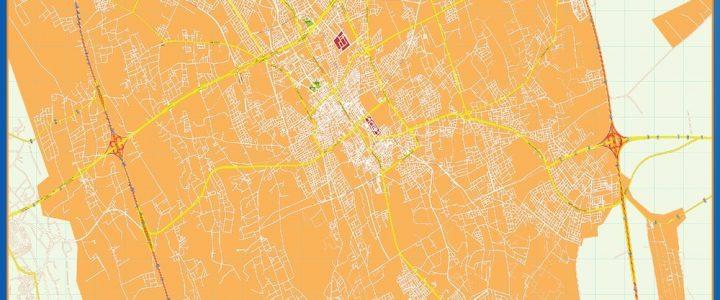 Mapa Buraidah
