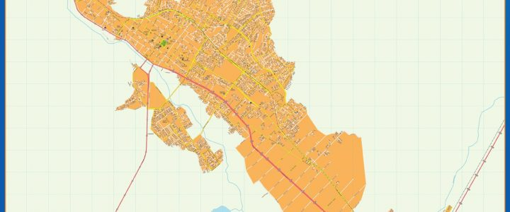 Mapa Copiapo