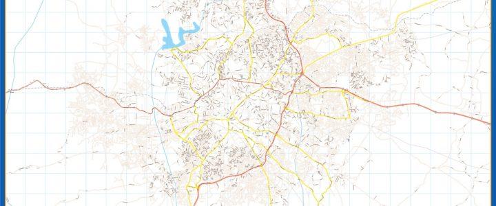 Mapa Ibadan