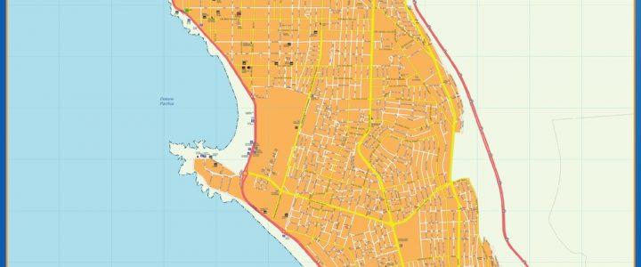 Mapa Iquique