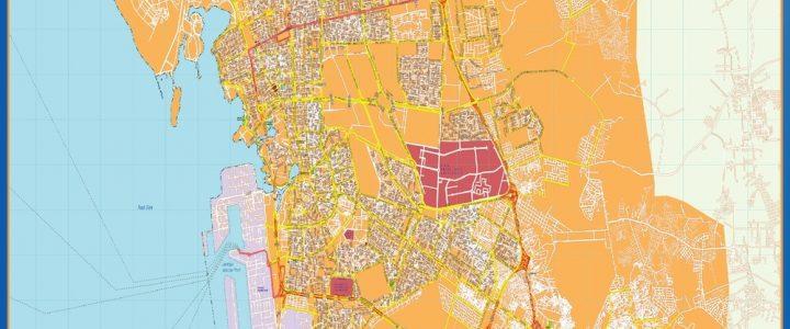 Mapa Jeddah