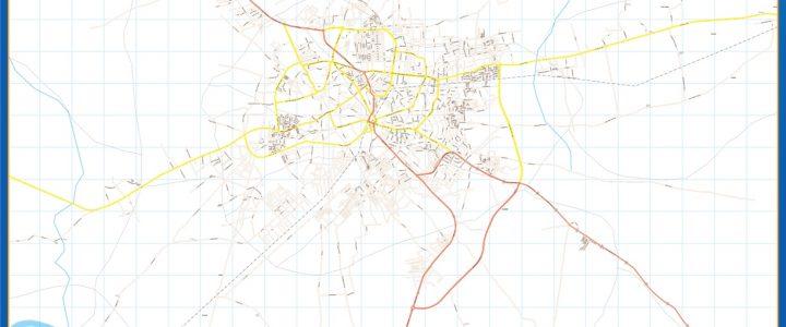 Mapa Kano