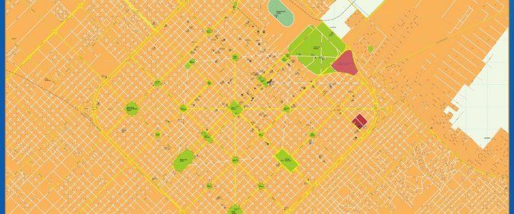 Mapa La Plata