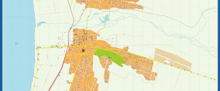 Mapa La Serena