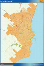 Mapa Mar del Plata
