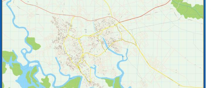 Mapa Port Harcourt