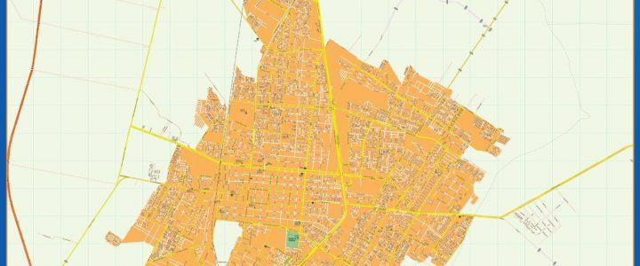 Mapa Rancagua