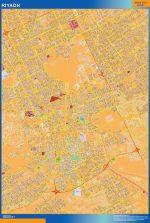Mapa Riyadh