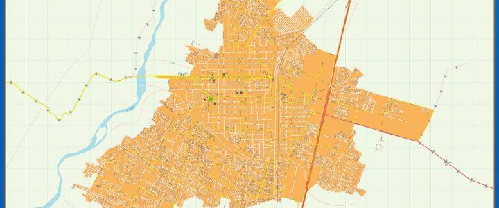 Mapa Talca