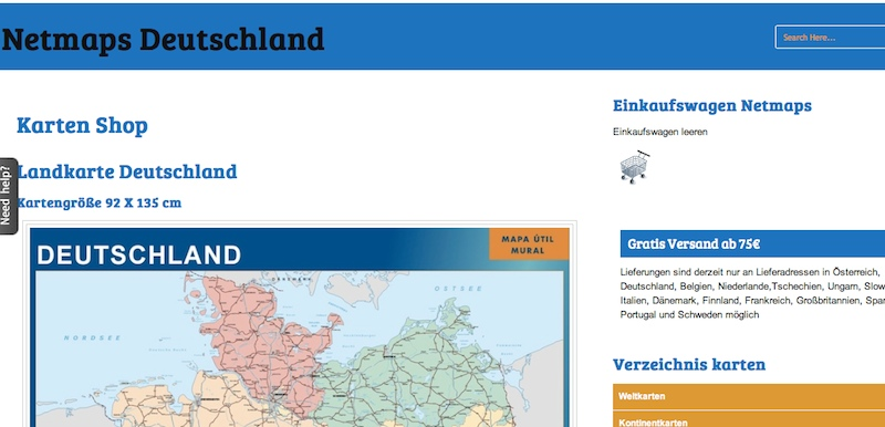 Netmaps Alemania