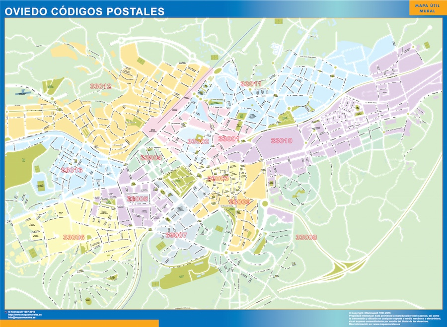 Oviedo Codigos Postales