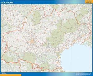 Mapa Region OccitanIe