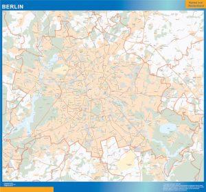 Berlin Lander mapa