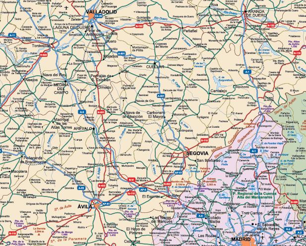 Zoom Mapa España