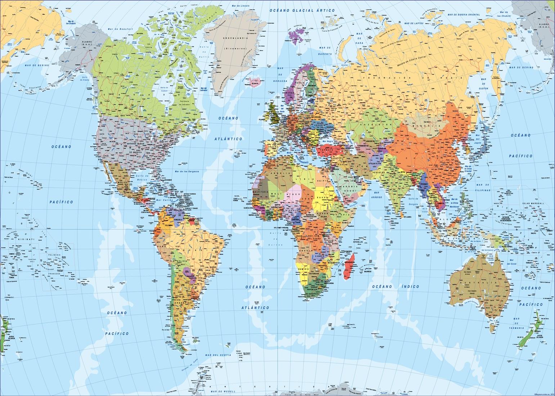 Mapa mundo 2020
